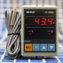 Buy BESFUL BESFUL LC-220A + solar water temperature dual temperature controller thermostat temperature controller for $35.00 in AliExpress store