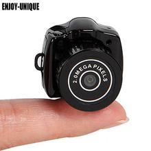 ENJOY-UNIQUE Y2000 Hot Sale Mini Smallest HD Video Camera 720P Mini Pocket DV DVR Portable Camcorders Micro Digital Recorder USB(China)