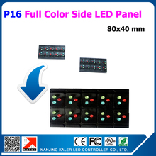 TEEHO New products 50pcs a lot small size 80*40mm led display panel p16mm full color led panel for led display no need program