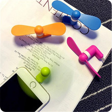 Portable Flexible Cooling Fan Mini USB Cooler Portable For IOS iphone 5 5s 6 6s plus SE mobile