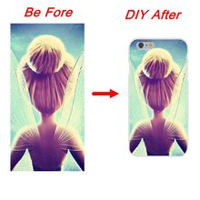 DIY Customize Soft Silicone TPU Transparent Phone Cover Case For iPhone Samsung Galaxy HTC Xiaomi  Huawei   Sony  LG