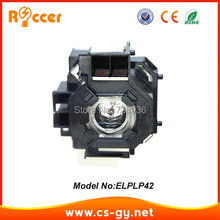 ROCCER High quality Replacement projector lamp V13H010L42 / ELPLP42 FOR EPSON LAMPADA ELPLP-42