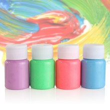 5 Colors Acrylic Paints Body Paint Neon Fluorescent UV Grow In The Dark Face Painting Luminous Art for Party Halloween Make Up