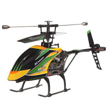 Wltoys V912 Large 4CH Single Blade RC Helicopter 2.4GHZ Radio System RC Plane with Mode 2 Universal Transmitter