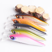 Buy Fishing Lure 5.1g 7.5cm Hard Bait Minnow Spinner Baits Artificial Lures fly fishing Wobbler Lifelike floating accessories pesca for $2.69 in AliExpress store