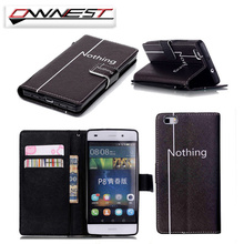 OWNEST Luxury Mobile Phone Funda For huawei P8 lite P9 lite Cover Flip Case PU Leather Wallet Cover Protective Shell Skin
