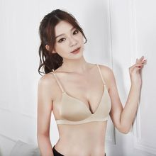 Buy Women Seamless Push Bras Lingerie Adjustable Brassiere Super Sexy Bra 2 Color Bras Women Solid Color Bra