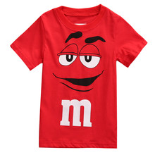 New Style Fashion Personalised Cartoon Boy Kids Clothes Tee T-Shirt Short Sleeve Top Casual Summer Baby Clothing Age 2-7Y(China)