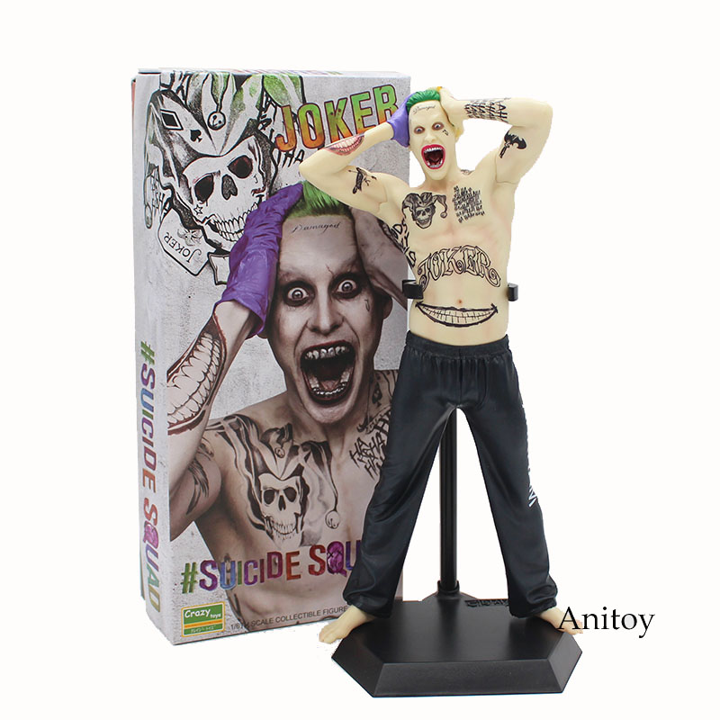 Crazy Toys Suicide Squad The Joker 1/6th Scale PVC Collectible Figure Model Toy 12 30cm KT3861<br>