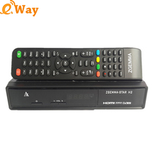 Cheap Zgemma Star H2 Satellite TV Receiver Twin DVB S2+T2/C Digital Set Top Box MIPS 751MHz CPU Linux os media player 5pcs/lot