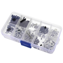 Hot Sale 310PCS In One Screw Box Set For HSP 1/10 Rc Remote Control Car Parts