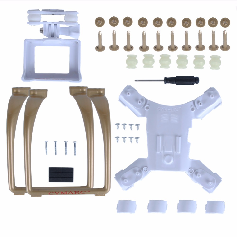 RC Drone HUBSAN H501S H501C H501A Quadcopter Spare Parts Accessories H501s Gimble Mount For Gopro Hero4 SJ7000 SJ8000 <br>