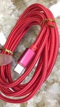 100PCS 3m  colorful Type-C 3.1 Type C USB Data Sync Charger Cable for macbook pc table notebook