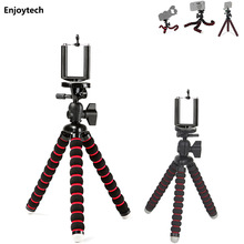 Mini Octopus Flexible Tripod with gradienter for Gopro DLSR Digital Camera Portable Mount Stand Gorillapod Holder 3-6inch Phones(China)