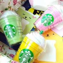Hot Sale coffee Snow Cup Starbuck 5200mAh Power Bank 18650 charger portable External battery pack powerbank for all Phone