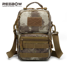 Tactical Military Single Shoulder Bag Outdoor Sports Men MOLLE Camouflage Messenger Sling Pack Cycling Running Camping ARMY(China)
