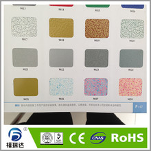 thermosetting RAL6013 Reed green epoxy polyester electrostatic powder coating