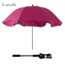 LARATH UV-protection 8 Colors Umbrella Baby Stroller Accessories Sun Shade Suits for Any Baby Carriage Pram Strollers(China)