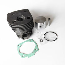 46mm Cylinder Piston Kits for Husqvarna 55 Motosierra Chainsaw parts(China)