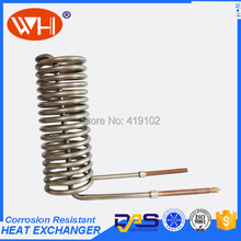 HOT SALE immersion coil heat exchanger, titanium heat exchanger tube, heat exchange parts