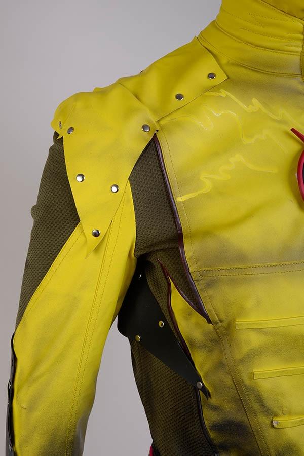 The Flash Hunter Zoom T-shirts Raglan Manica Lunga Cosplay Giallo Costume Uomo