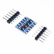 20pcs/lot 5V-3V IIC UART SPI Four Channel Level Converter Module for Arduino FZ0428  via China Post