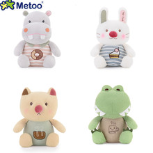 Metoo Plush New Style Cat Dolls Cartoon alligator Metoo Super Soft Decoration Toys Best Gifts for Kids Girls Boys Collection