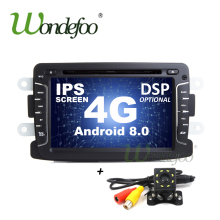 DSP ips Android 8,0/8,1 Автомобильный мультимедийный gps для Dacia Sandero Duster Renault Captur Lada Xray 2 Logan 2 Dokker Lodgy 2012-2017(China)