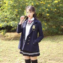 Adult Naughty Japan Korea England School preppy chic Popular lovely womens Costumes schoolgirls wool warm costumes casual wear