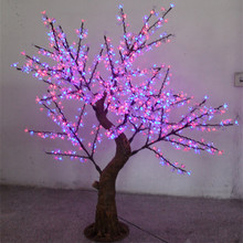 xmas lights Led tree light led high artificial cherry tree 2 meters 1152 lamp led cherry blossom tree lights