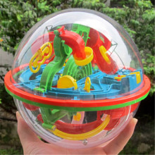 100 Steps 3D Puzzle Magic Puzzle Ball Intellect Ball Balance Maze Game Puzzle Educational Toys For Children