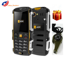 "Gift! (24 Hours Shipping) AGM M1 IP68 Waterproof 2.0"" 3G Mobile Phone 2.0MP 2570mAh Dual SIM Dual Standby Outdoor Elder people(China)"