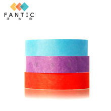 200pcs custom paper bracelets,thin charm bracelets,custom wristband for events,china paper handband supplier(China)