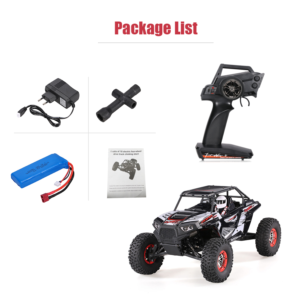 Cool Remote Control Climbing Car SUV 10428-B2 110 2.4G 4WD Electronic Rock Crawler Off-Road Buggy Desert Baja RC Cars RTR (1)