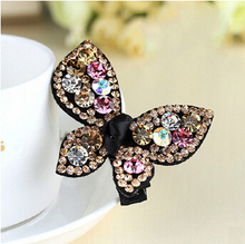 Luxury top fashion Austria diamond hairpins best hair accessories 4 colors