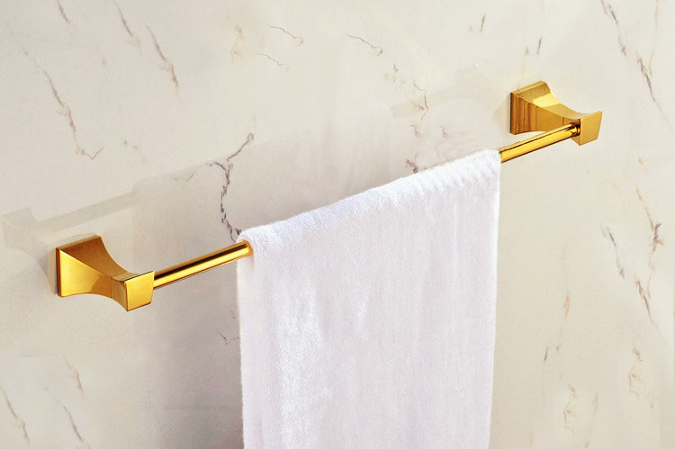 Free Shipping Bathroom towel holder, Foldable towel rack,brass golden towel rack GB006a<br><br>Aliexpress