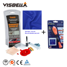 Visbella good bond 5 Second Fix UV Light Repair Tool With Glue and Car Windscreen Glass Repair Kits for Auto Windshield Scratch