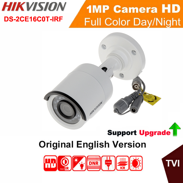 HIKvision DS-2CE16C0T-IRF HD EXIR Bullet Camera 720P Analog HD Output 1MP IP66 True Day/Night CCTV Surveillance Camera<br>