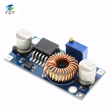 shipping! 1pcs XL4005 DSN5000 Beyond LM2596 DC-DC adjustable step-down 5A power Supply module,5A Large current Large power(China)