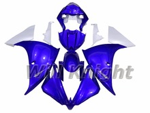 Body Cover for Yahama YZF1000 YZF R1 2009 2010 2011 2012 ABS Injection Molding Fairing Kit Blue White