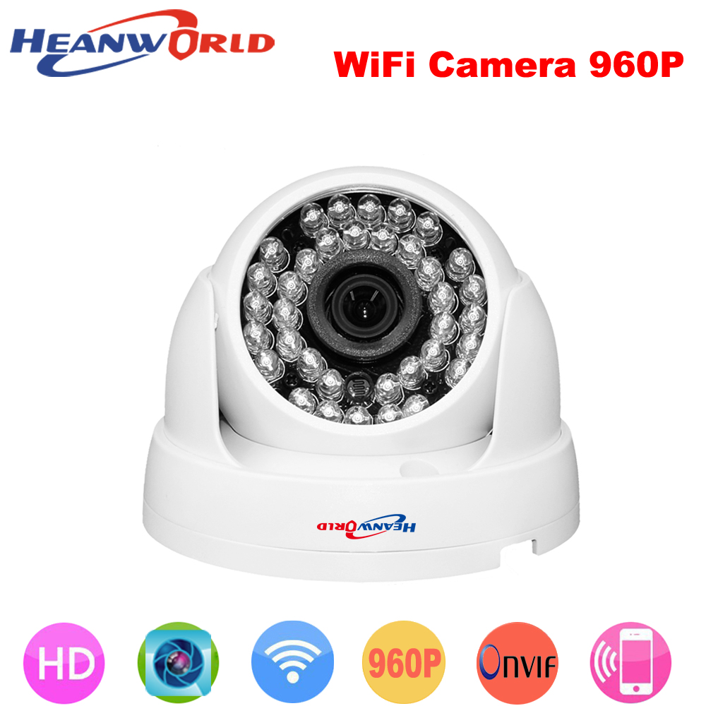 HD 960P Wireless IP Camera Wifi built-in antenna 1.3MP Night Vision indoor Home use Video Security Camera CCTV Network IP Cam<br>