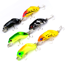 1Pcs Diving Frog 5.5cm 8.5g Hard Lure For Sea Carp Fly Fishing Spinner Bait Accessories Jig Hooks Tool Wobblers Fish Sport lures