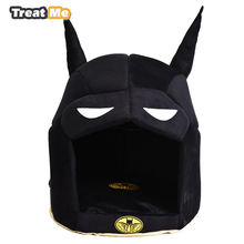 Funny Batman Warmer Dog Bed All Seasons Available Pet House Soft and Comfortable Dog Beds For Small Dogs(China)