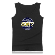 Summer Vest Got7 Team Member Logo Tank Top Men Bodybuilding And Got7 Printing Exercise Workout Mens Tank Tops XXS To 4XL Clothes