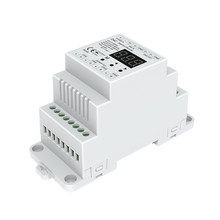 New D4C 4 Channel CC DMX512 Decoder Constant Current DMX Decoder;DC12-48V input;4CH 150-1800mA setting dmx address Track Type