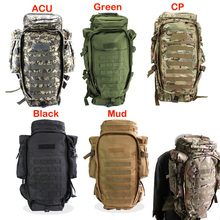 Buy Outdoor Tactical Backpack Backpacks Travel Climbing Bags Outdoor Sport Hiking Camping Army Bag Military Male for $43.67 in AliExpress store