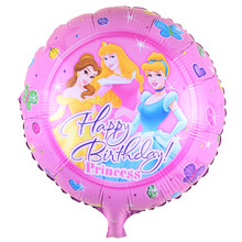 5pcs/lot 45*45cm princess Foil Balloon Aluminum Martha&Bear Mylar Balloon Happy Birthday Party Decoration Globos Toys