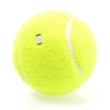 Profession Training Tennis Ball Special Offer Durable Tennis Ball with Elastic Rubber Fluorescent Yellow