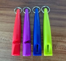 Free shipping pet horse training Whistle plastic for horse traing 50pcs/lot mixed colors five colors at stock(China)