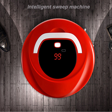 Multifunctional Robotic Vacuum Cleaner Self-Charge Sweep Home Collector Suction LED Touch Screen Roller Brushes FD-RSW(China)
